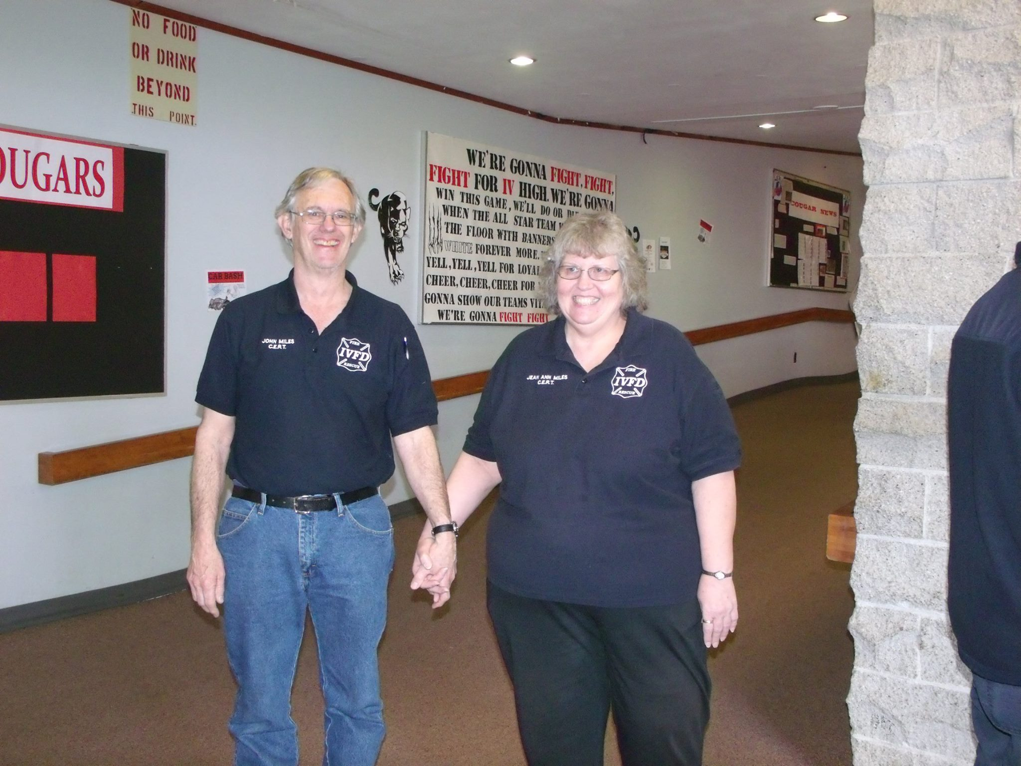 Organizers, Jean Ann and John Miles